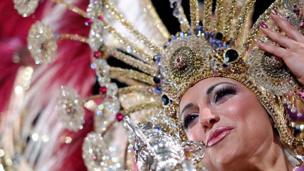 Reina del Carnaval en Las Palmas de Gran Canaria