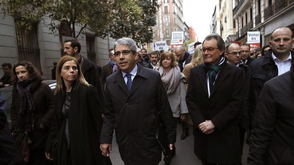 El Supremo juzga a Homs por desobedecer al Tribunal Constitucional