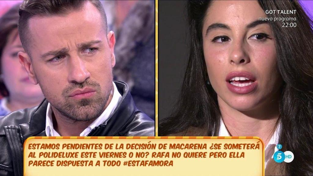 "Macarena no se someterá al PoliDeluxe: ""No vengo a demostrar nada a nadie"""