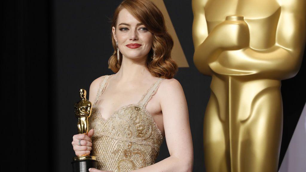Emma Stone en los Óscar