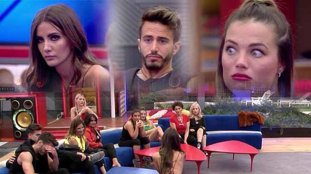 Aylén se presenta a los concursantes y comienzan las discusiones con Marco