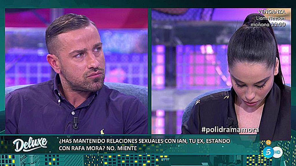 Rafa Mora deja definitivamente a Macarena al enterarse de que se ha acostado con su ex