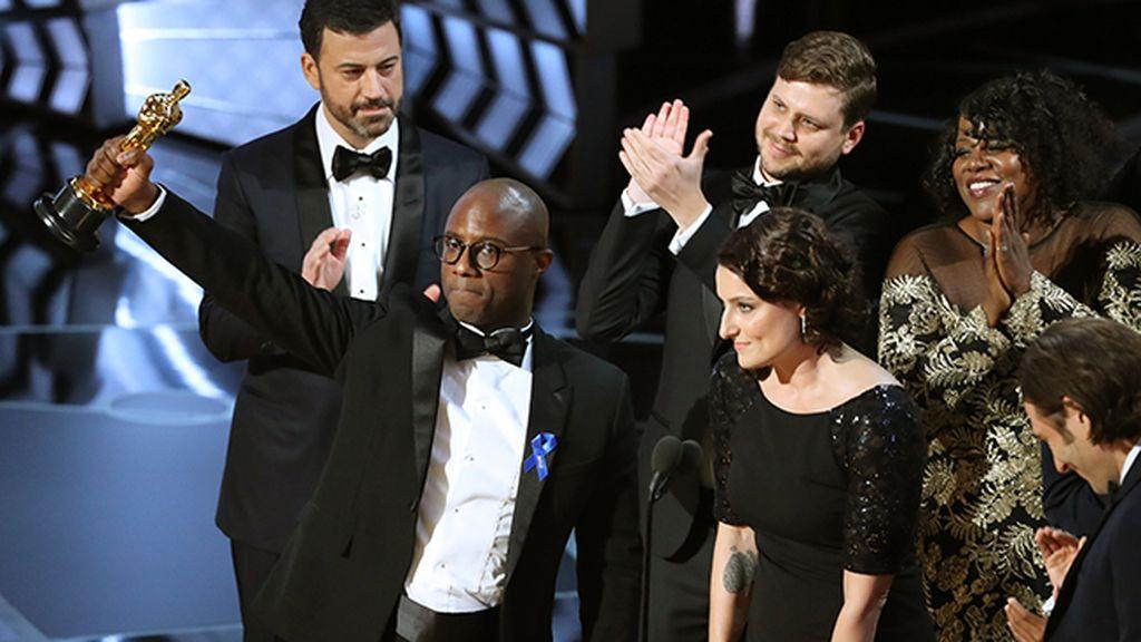 'Moonlight', Óscar a la mejor película tras un garrafal error