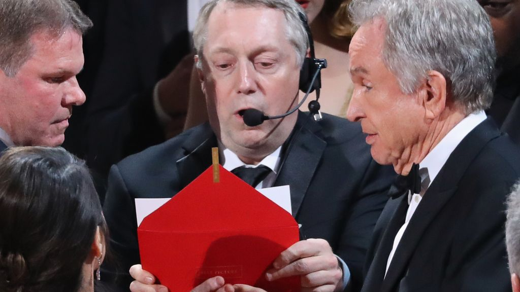 Error en los Oscar
