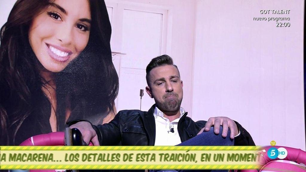 """Rafa Mora, de Macarena: """"No puedo estar con alguien en quien no confíe al 100%"""""""
