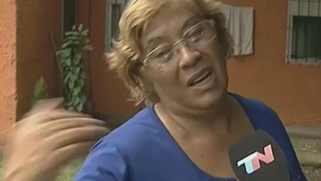 Vecina joven entierra bebé Argentina