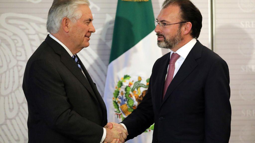 Tillerson quiere trabajar con Mexico