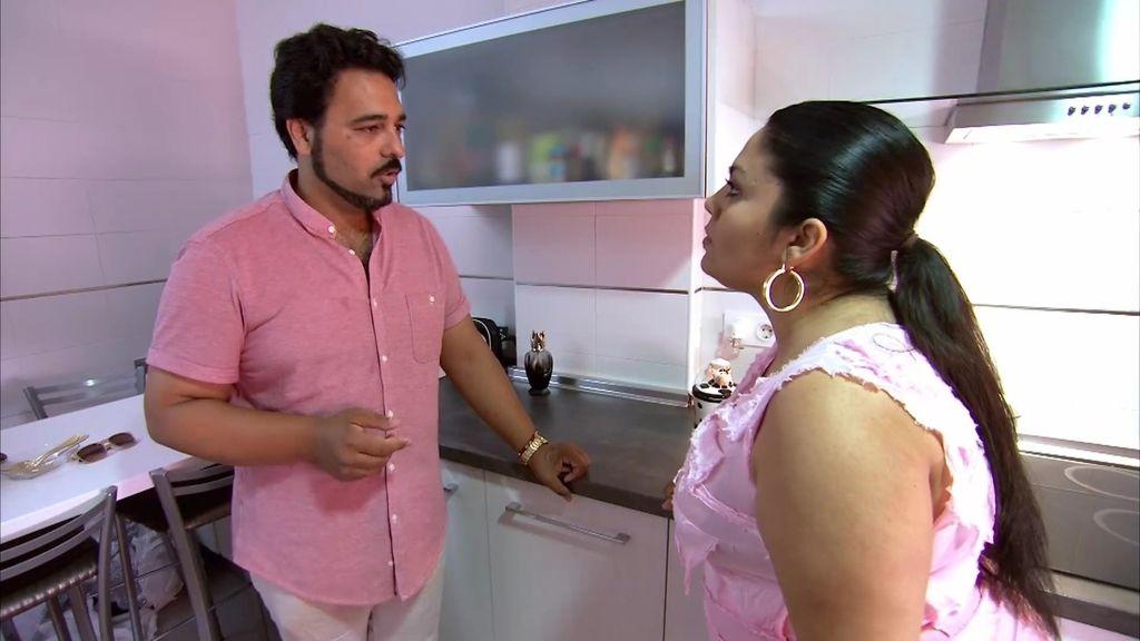 Jorge 'el Canastero' no tiene sitio para ensayar y le pone un ultimátum a Saray