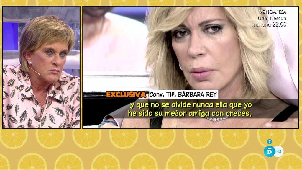 """Bárbara Rey: """"En mi vida ya no existe Chelo"""""""