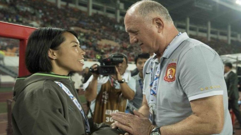 ¡La primera mujer entrenadora de un equipo de Champions!