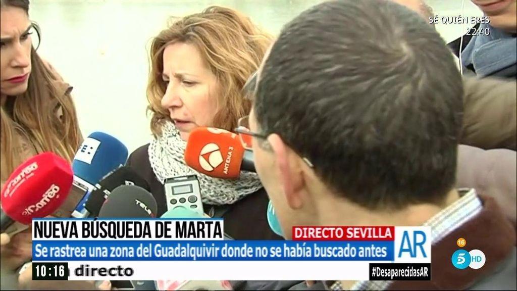 """Eva Casanueva: """"Ya tendríamos a Marta si hubieran dicho antes la verdad"""""""