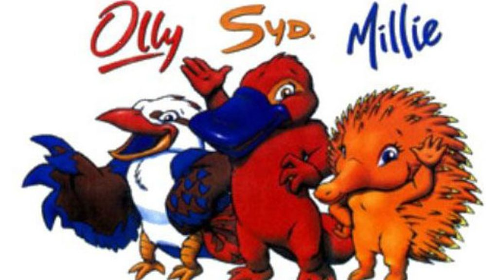 Syd, Millie y Olly en Sidney 2000