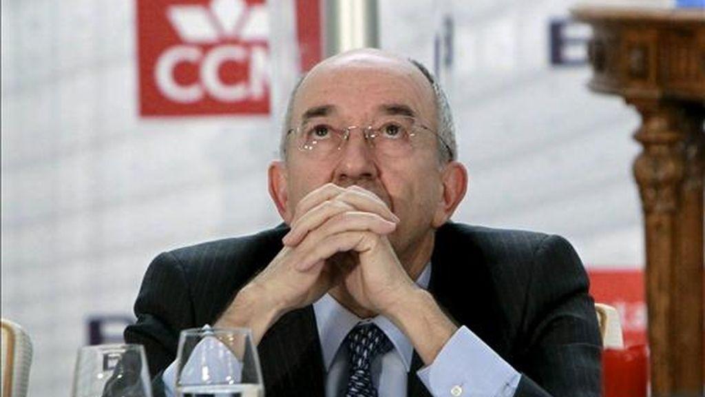 El gobernador del Banco de España, Miguel Ángel Fernández Ordóñez, participó hoy en la convención anual de la Asociación de Mercados Financieros (AMF) que se celebró en el Casino de Madrid. EFE