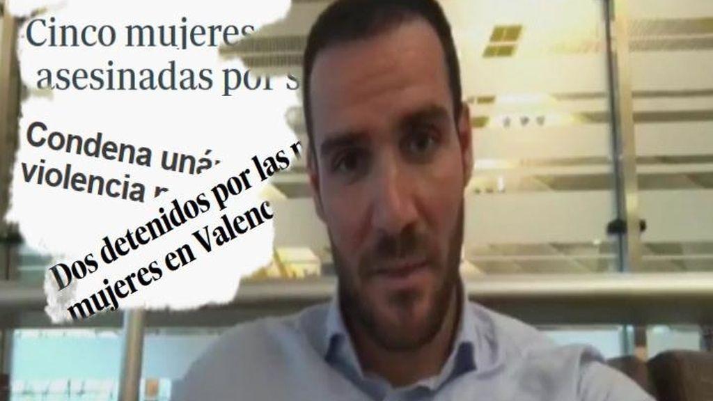 """Saúl Craviotto, indignado contra la violencia machista: """"Sois basura, unos mierdas"""""""