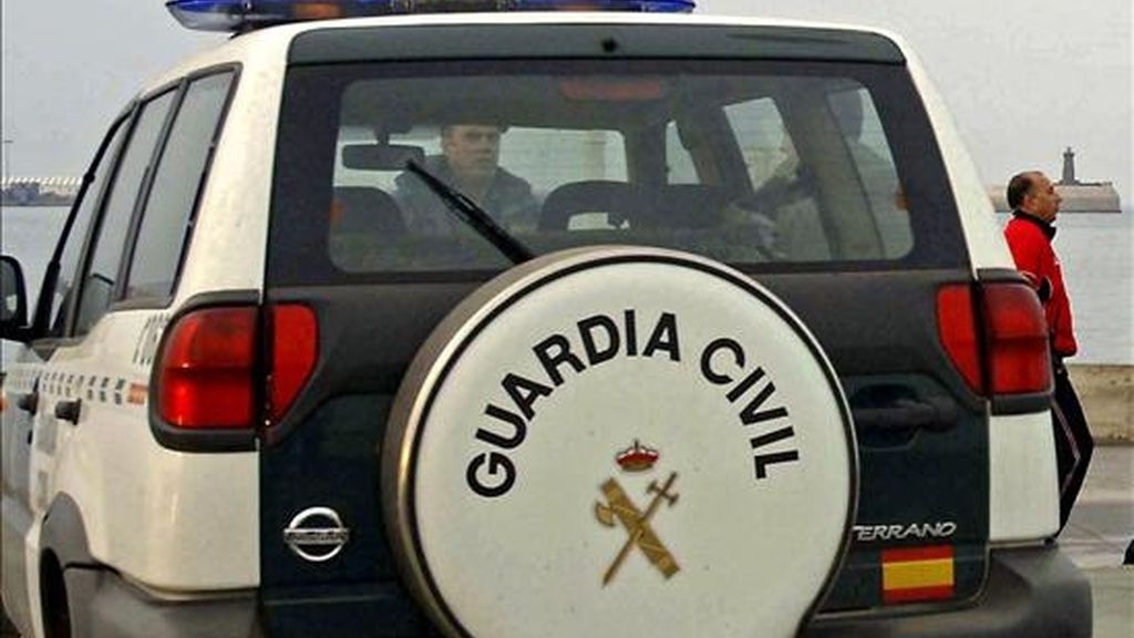 Un coche de la Guardia Civil en un suceso. EFE/Archivo