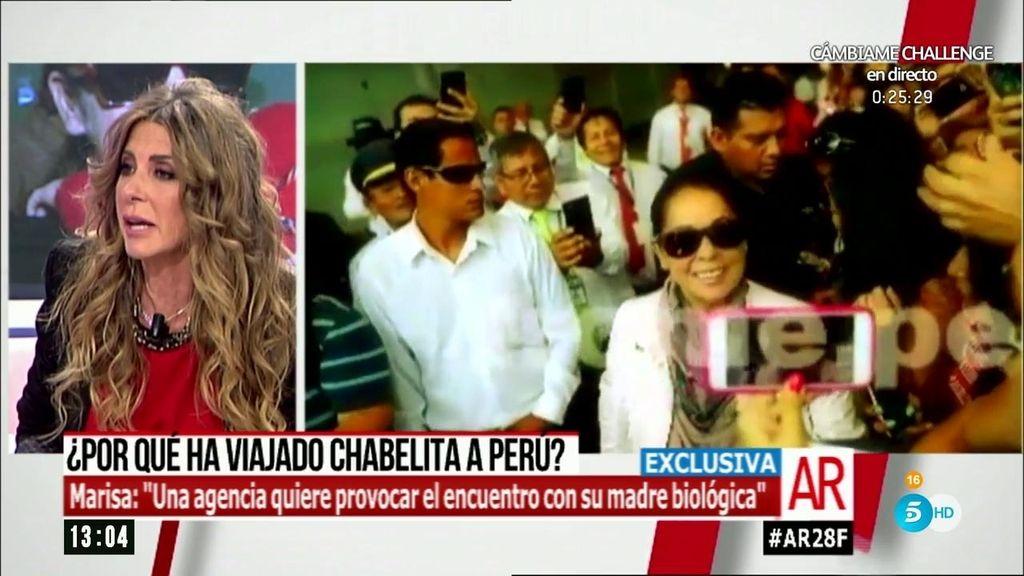 """Martín Blázquez: """"Quieren que Chabelita se encuentre con su madre biólogica"""""""