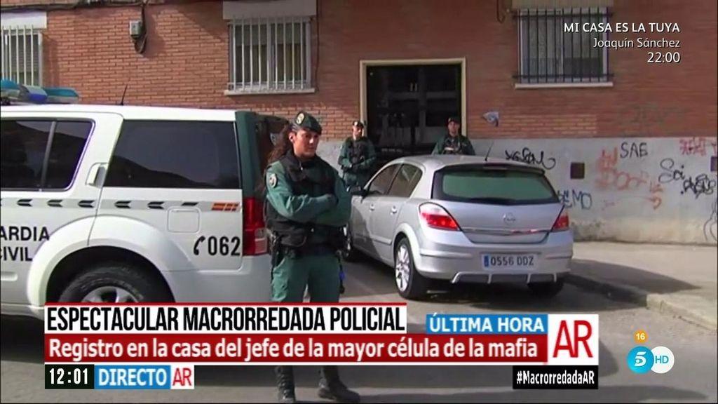 Operación en Coslada: Así ha sido detenido el líder de la mafia de ladrones