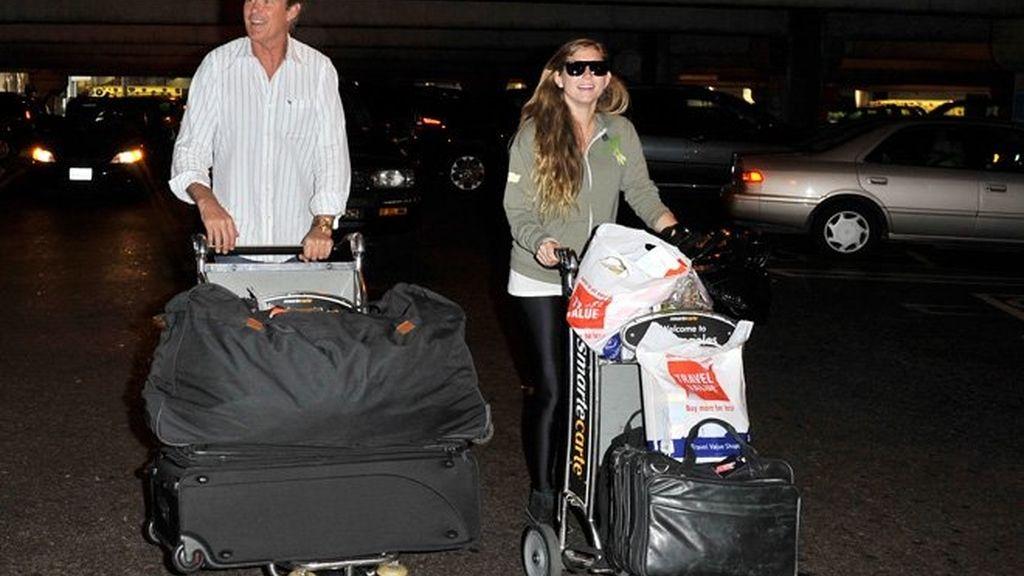 Las inverosímiles maneras de viajar de los famosos