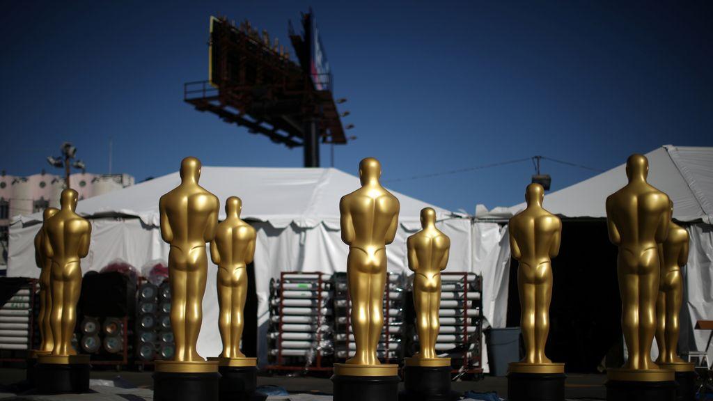 El escenario de los Oscar 2017, a punto