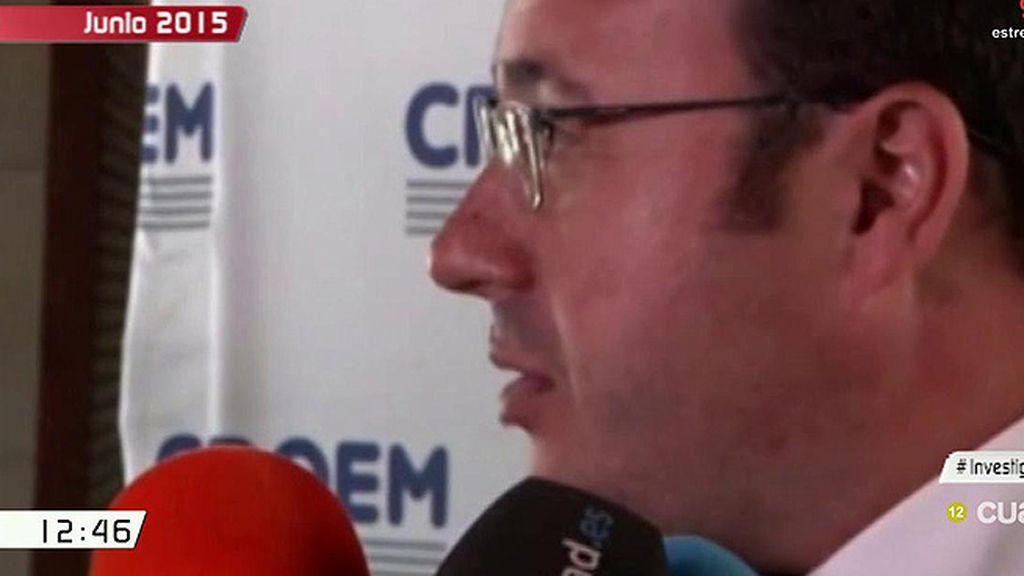 """Lo que dijo Pedro Antonio Sánchez sobre el 'caso auditorio': """"Si la justicia dictaminara una imputación, yo dimitiría"""""""