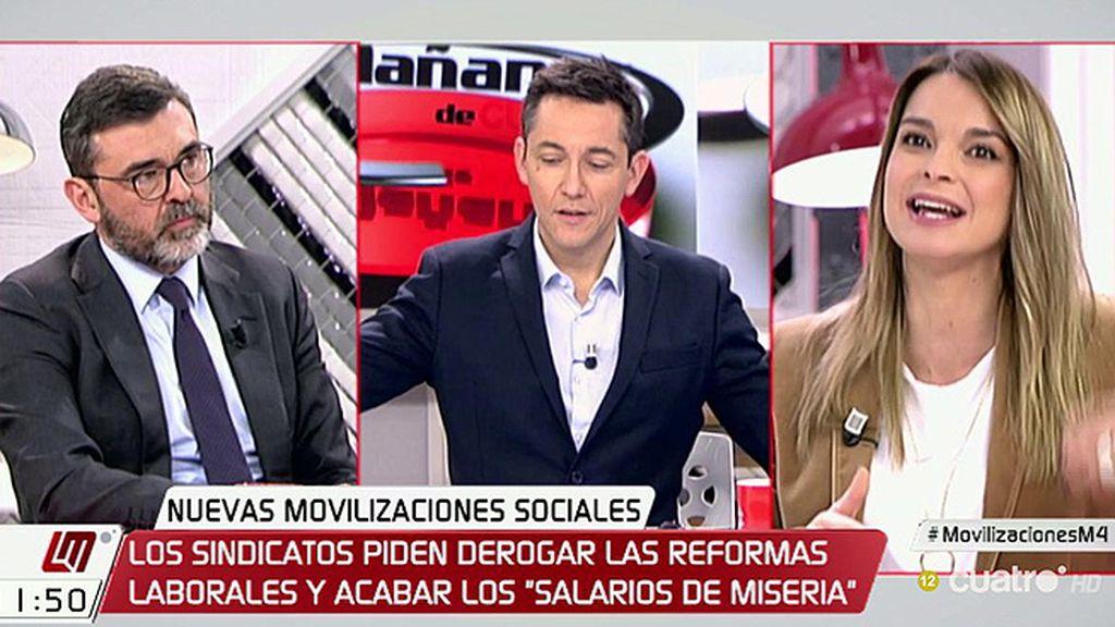 """Ricardo Cortés (PSOE): """"La situación de los salarios es exclusivamente del PP"""""""