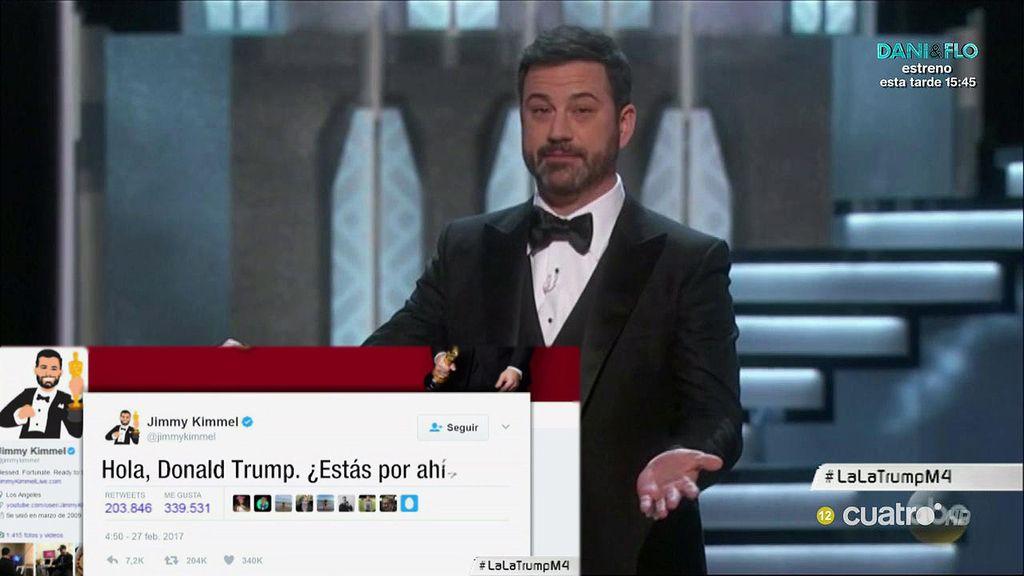 """""""Hola Donald Trump ¿estás por ahí?"""" Las alusiones al presidente en los Oscar"""