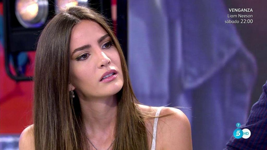 """Aylén Milla, de Marco: """"Sería ridículo que nos dejásemos por televisión"""""""