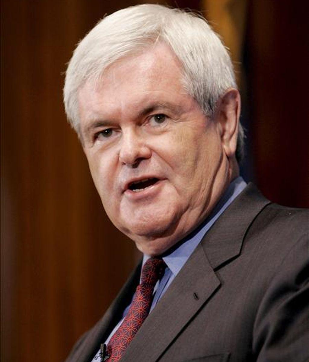 Las palabras de Gingrich han sentado mal entre algunos republicanos, en unos momentos en que su partido ha perdido apoyo entre las minorías. EFE/Archivo
