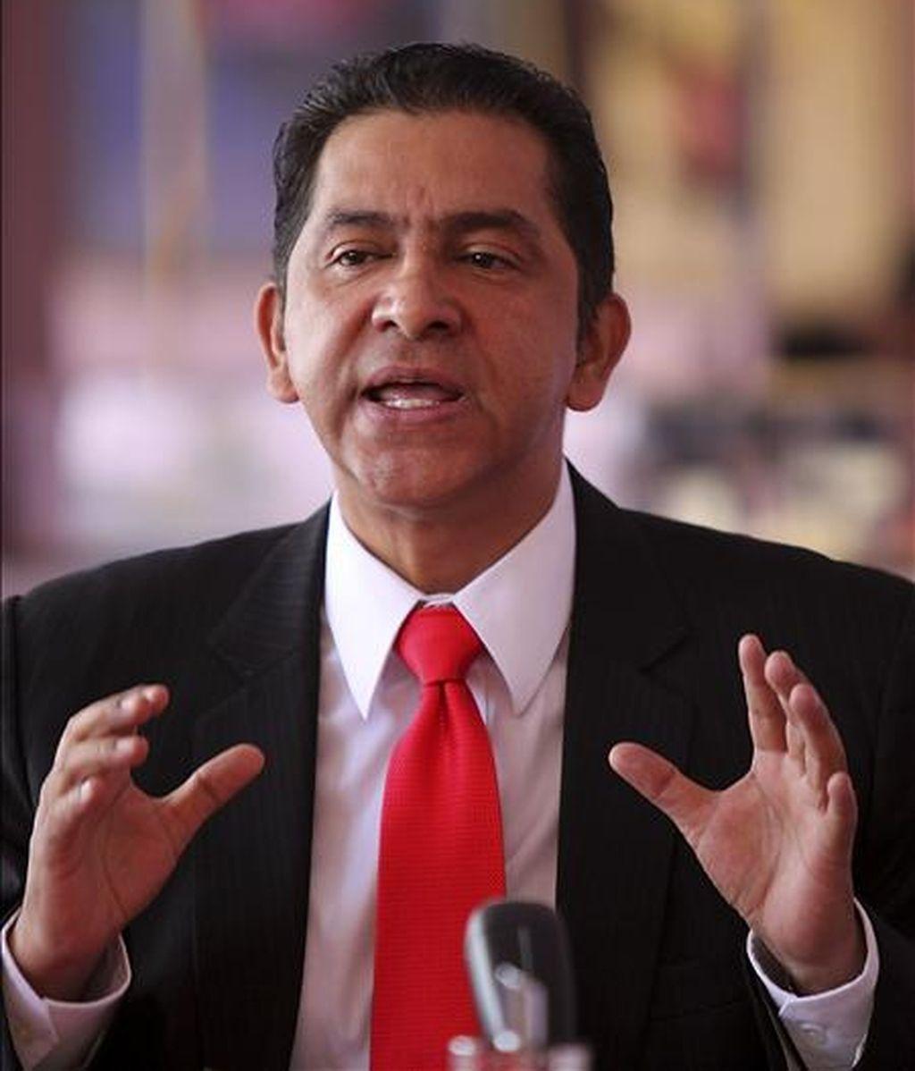 """""""Últimamente no hemos tenido indicios de que se mantenga esa actitud, pero en épocas pasadas el Gobierno (de Correa) sí fue muy permisivo con las FARC"""", afirmó Gutiérrez en una entrevista con la cadena colombiana Caracol Radio. EFE/Archivo"""