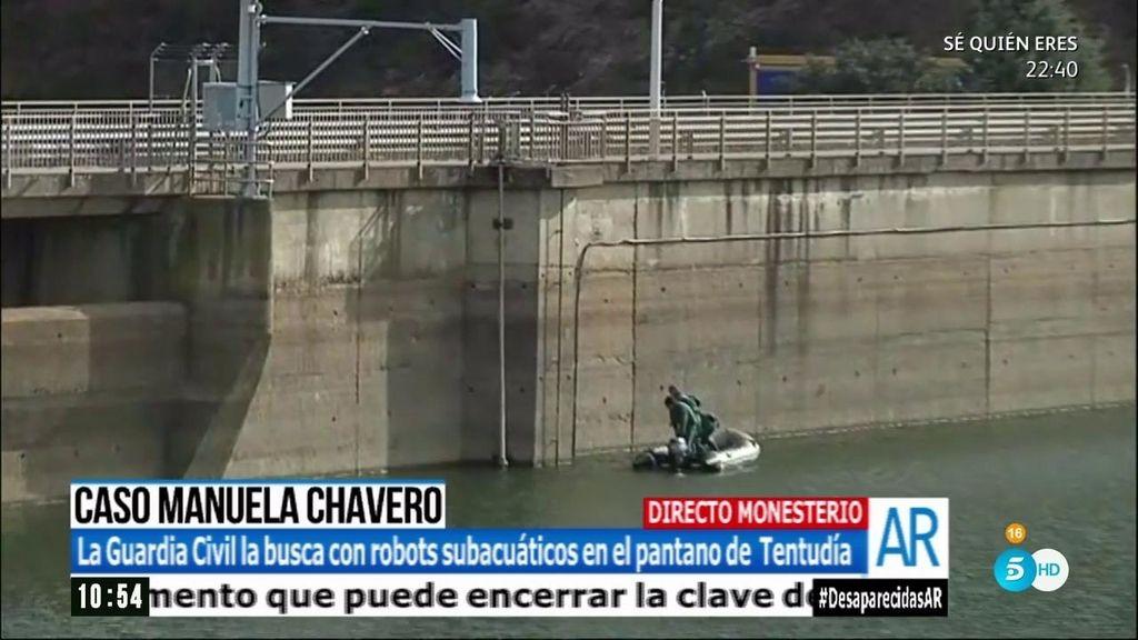 Se activa la búsqueda de Manuela Chavero en el pantano de Tentudía
