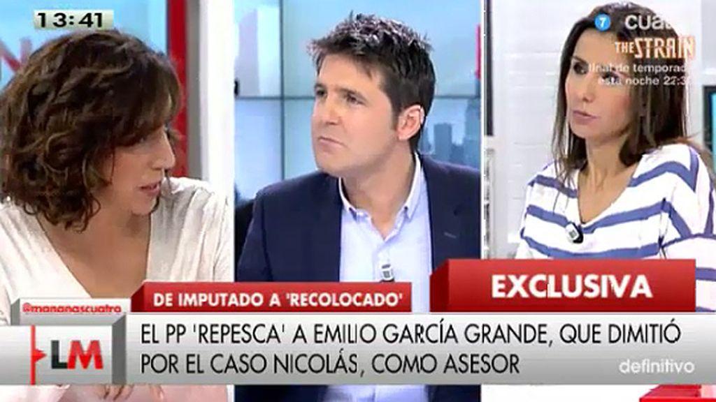 """I. Lozano (UPyD), de García Grande: """"Es otra demostración de que el PP ha convertido Madrid en su cortijo"""""""