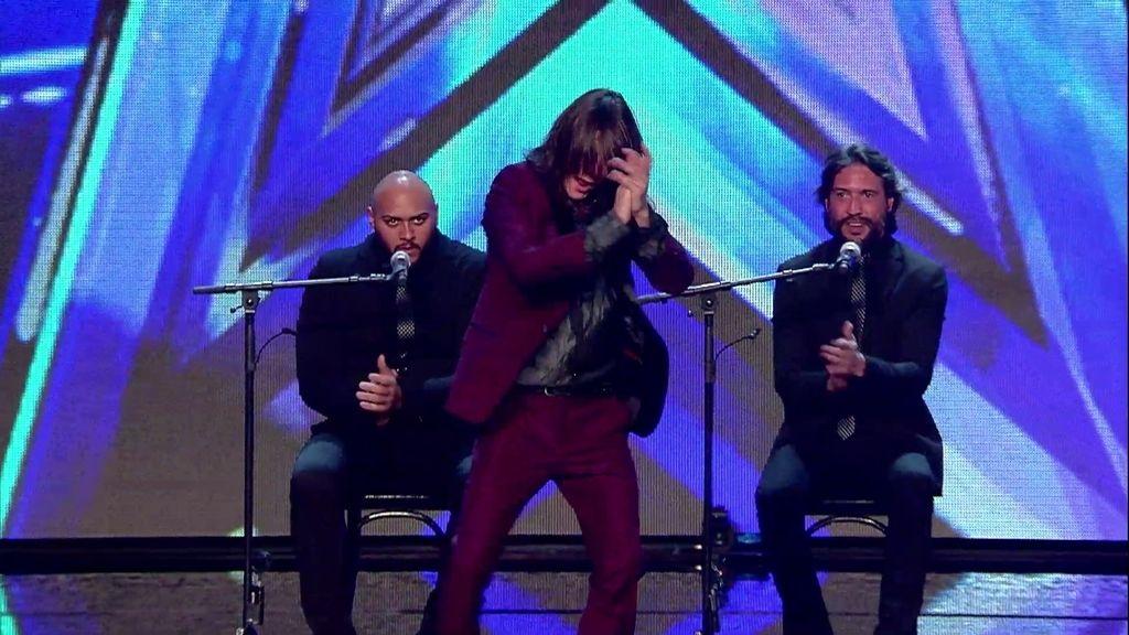 Rafael Fajardo 'Falelito' consigue el pleno de 'síes' con su baile flamenco