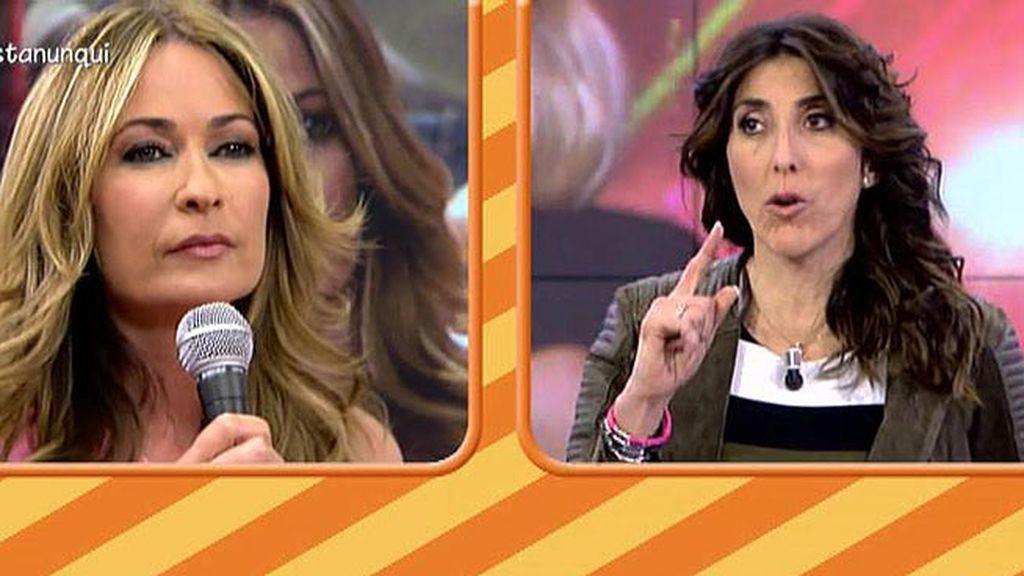 Olvido Hormigos asegura que Toño Sanchís aplaudió las palabras de Ylenia