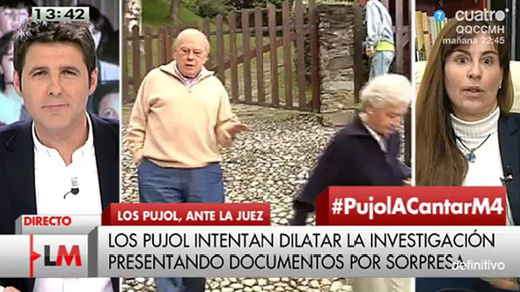"""Victoria Álvarez, sobre el caso Pujol: """"Creo que hay falta de voluntad jurídica"""""""