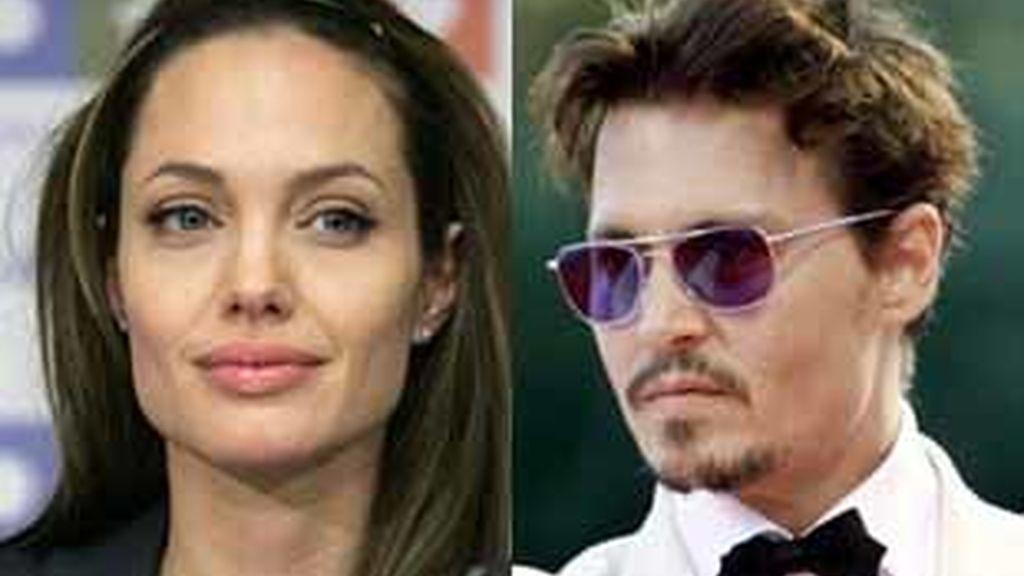 Johnny Depp podría haber herido la autoestima de la mujer más deseada de la década. Foto: EFE