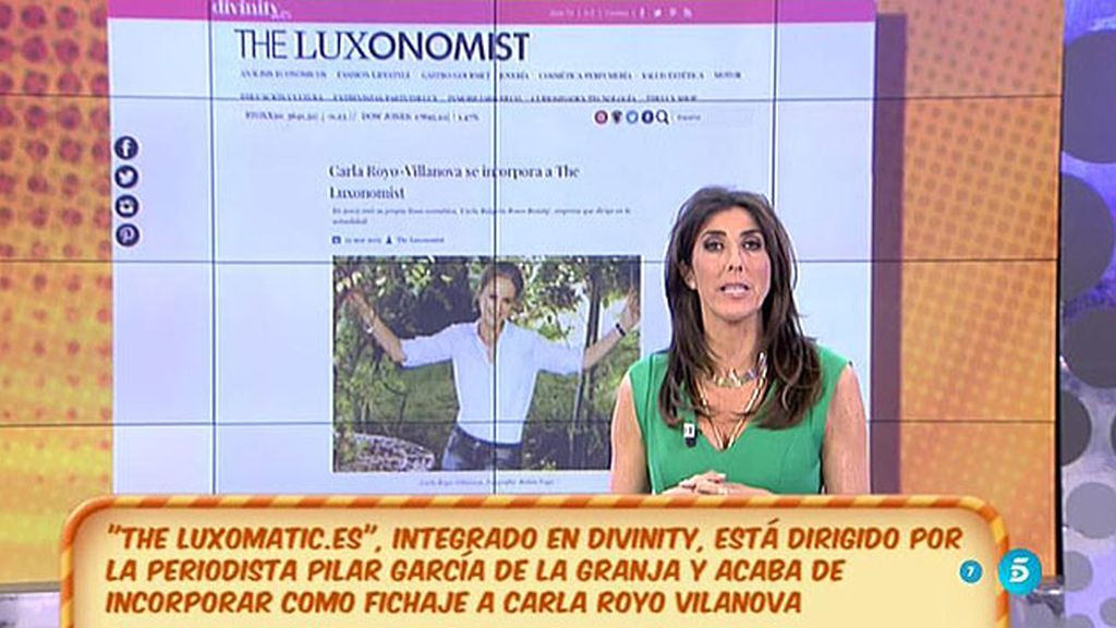 """Carla Royo Vilanova se incorpora a 'The Luxonomist.es"""""""