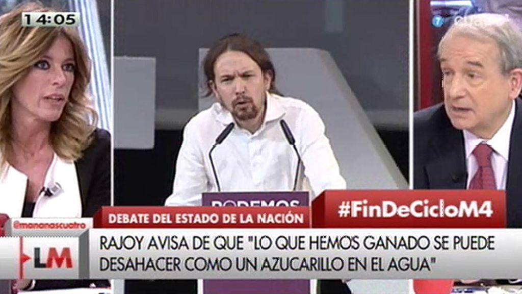 """Apezarena: """"El debate ya no es en el parlamento, se produce en los medios"""""""