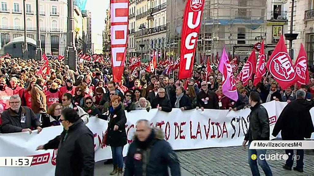 Movilizaciones contra la precariedad laboral
