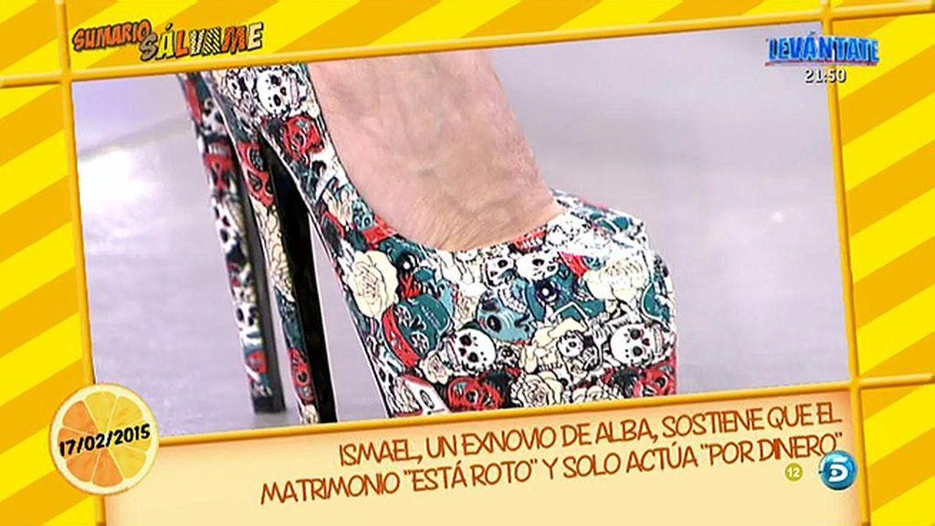 Los zapatos que Lydia Lozano le ha regalado a María Patiño