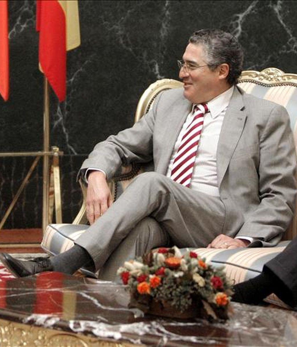 """El presidente del Senado chileno, el democristiano Jorge Pizarro, dijo: """"No podemos poner en duda que la demanda por territorio marítimo presentada por Perú guarda complejas e inciertas consecuencias"""". EFE/Archivo"""