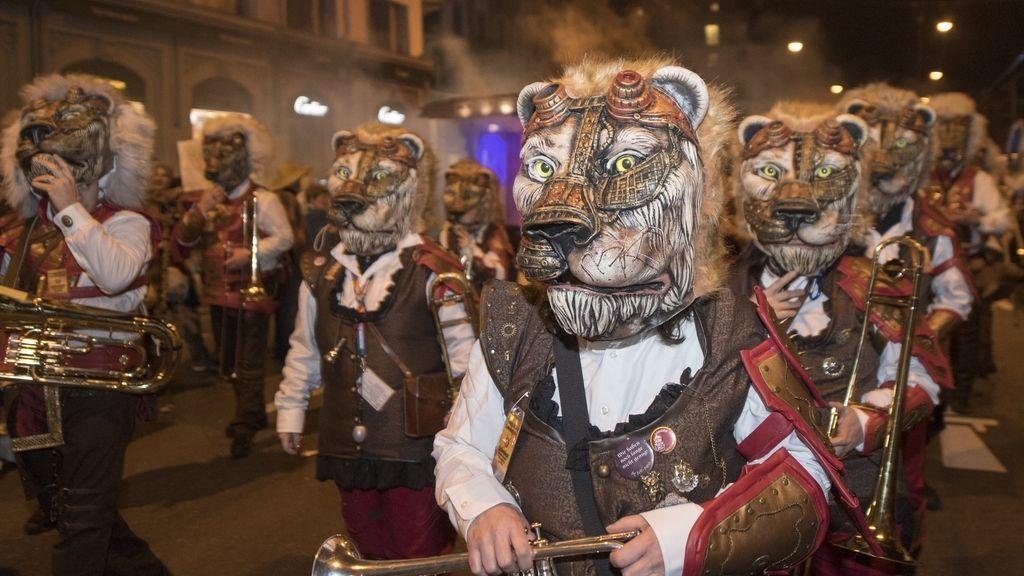 El carnaval en Suiza