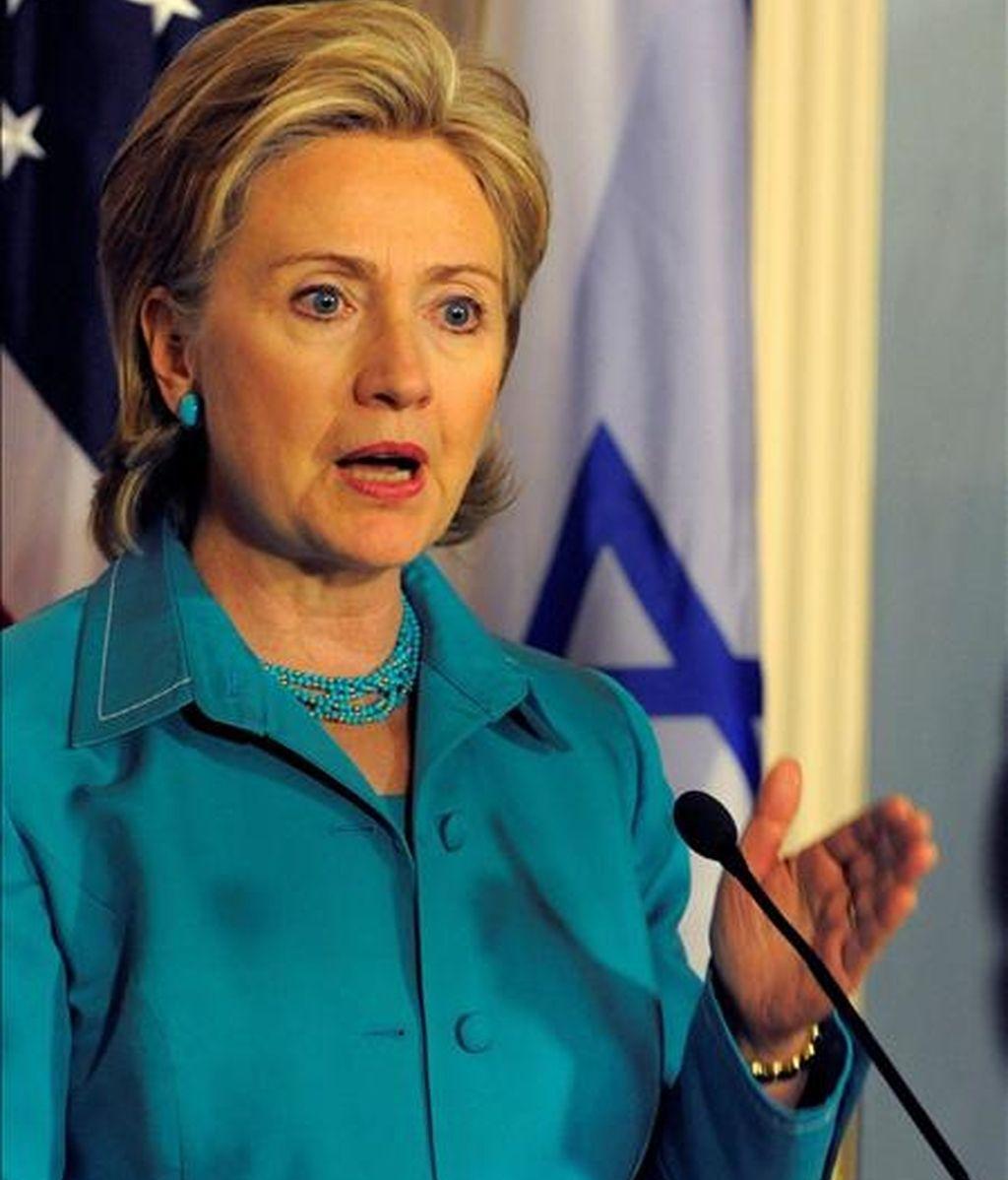 Hillary ya se encuentra en su casa en Washington, donde permanecerá durante el fin de semana junto a su esposo, el ex presidente Bill Clinton, y su hija Chelsea. EFE/Archivo