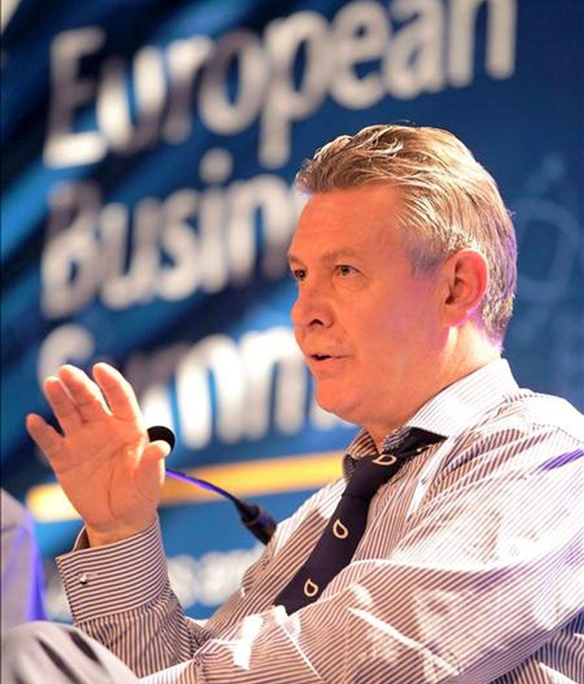 El comisario europeo de Comercio, Karel De Gucht. EFE/Archivo