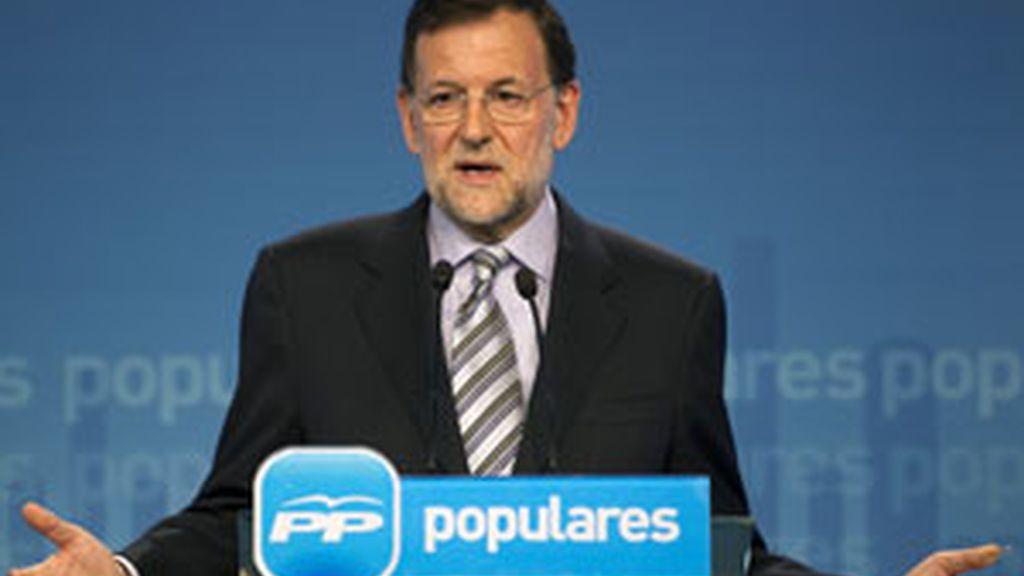 Rajoy asegura que las encuestas favorables son un estímulo para seguir trabajando FOTO: REUTERS/ archivo