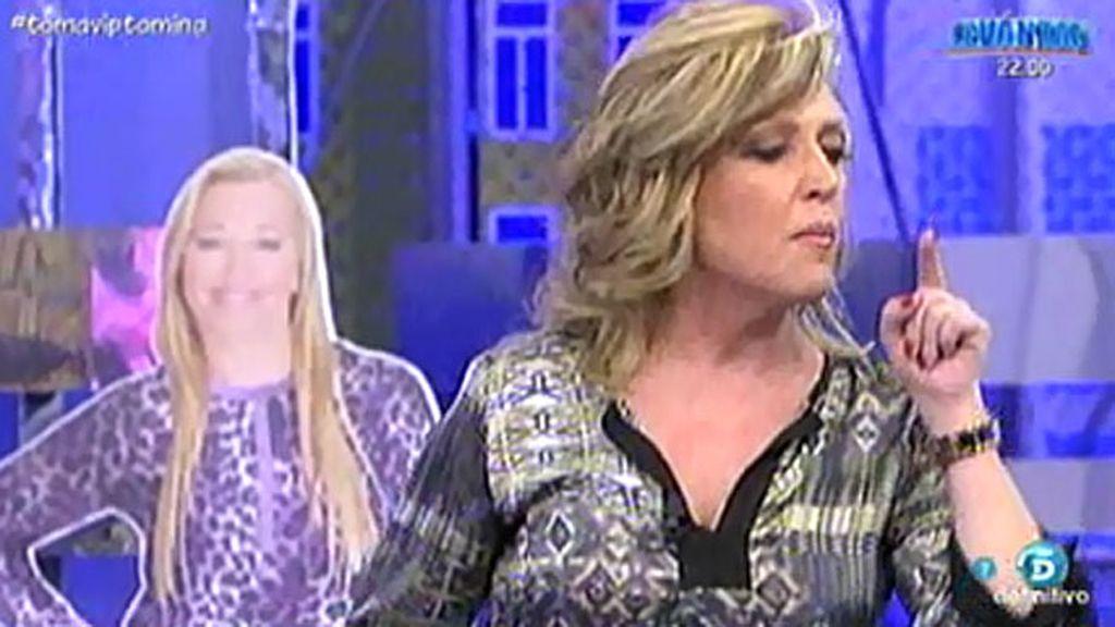 Lydia Lozano defiende que ella no está en contra de Belén Esteban...