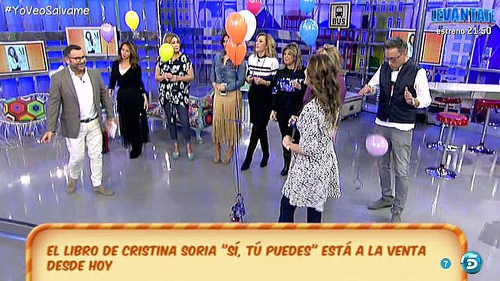 Cristina Soria entrega a los colaboradores los retos que tienen que superar