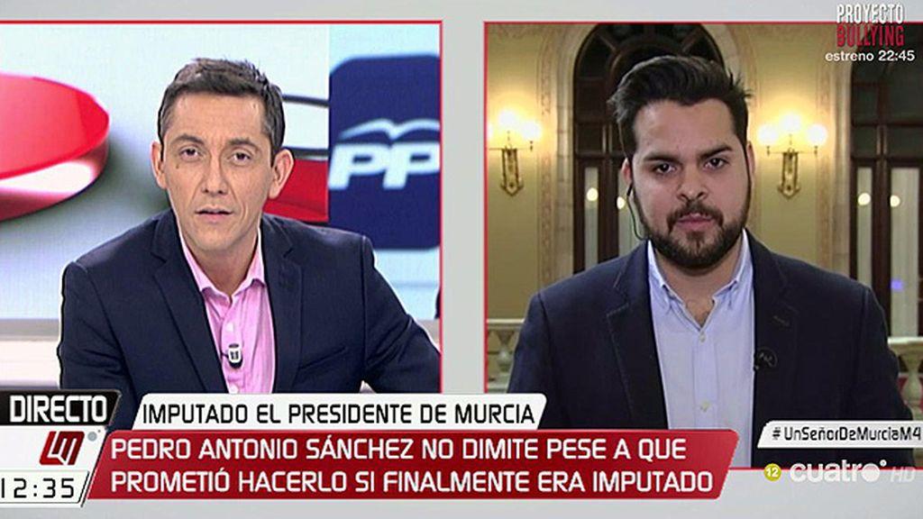 """Páramo, de Pedro Antonio Sánchez: """"No le va a quedar otra que dimitir"""""""