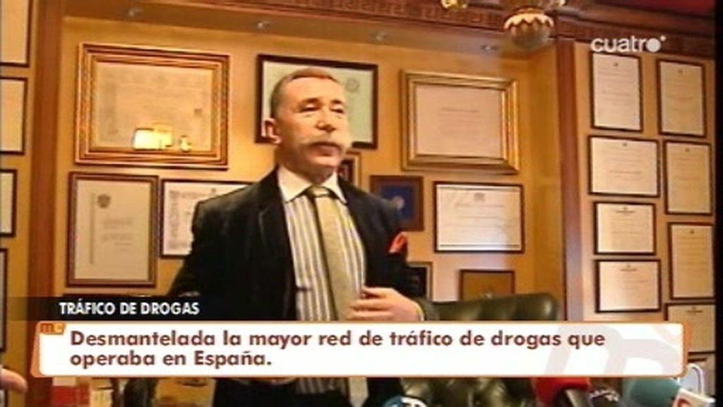 Desmantelada la mayor red de tráfico de drogas que operaba en España