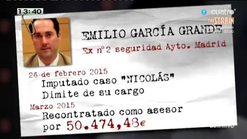 El PP recupera como asesor a García Grande, imputado en el caso 'Nicolás'