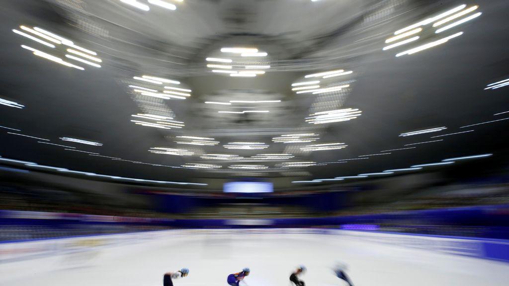 Los más rápidos de Asia sobre el hielo